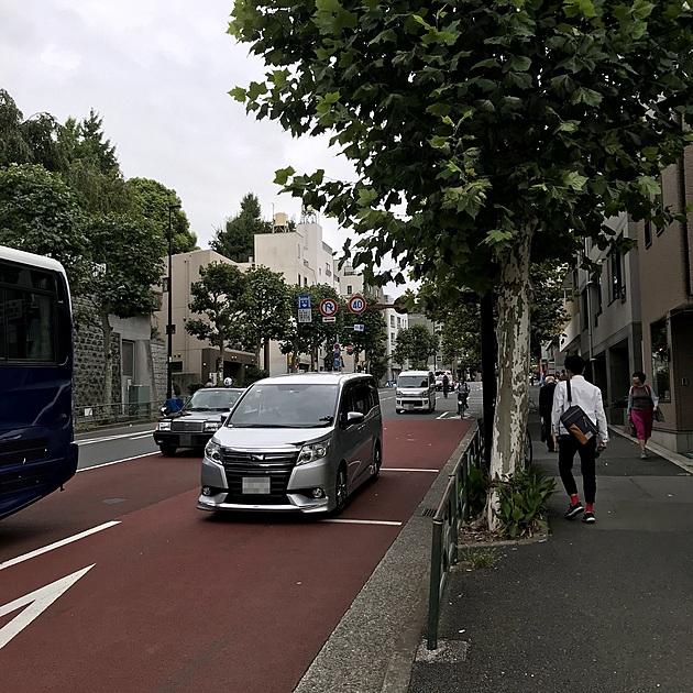早稲田通りの写真
