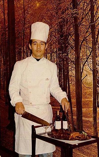 一ノ瀬邦夫社長の若い頃の写真