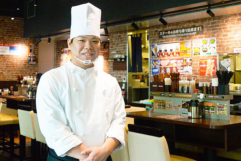いきなりステーキのキッチンスタッフの写真