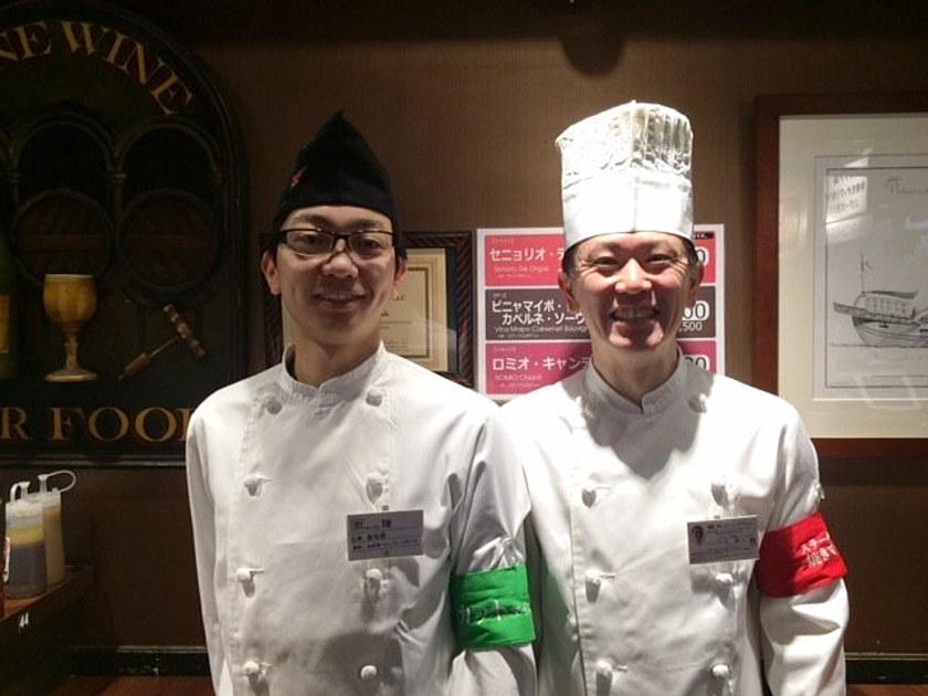 いきなりステーキのカットマイスターと焼きマイスターの写真