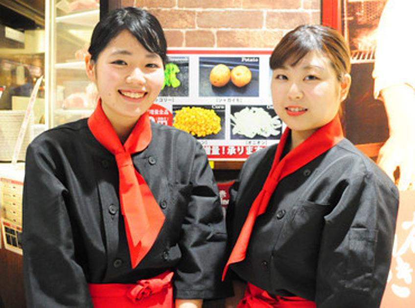 いきなりステーキのスタッフの写真