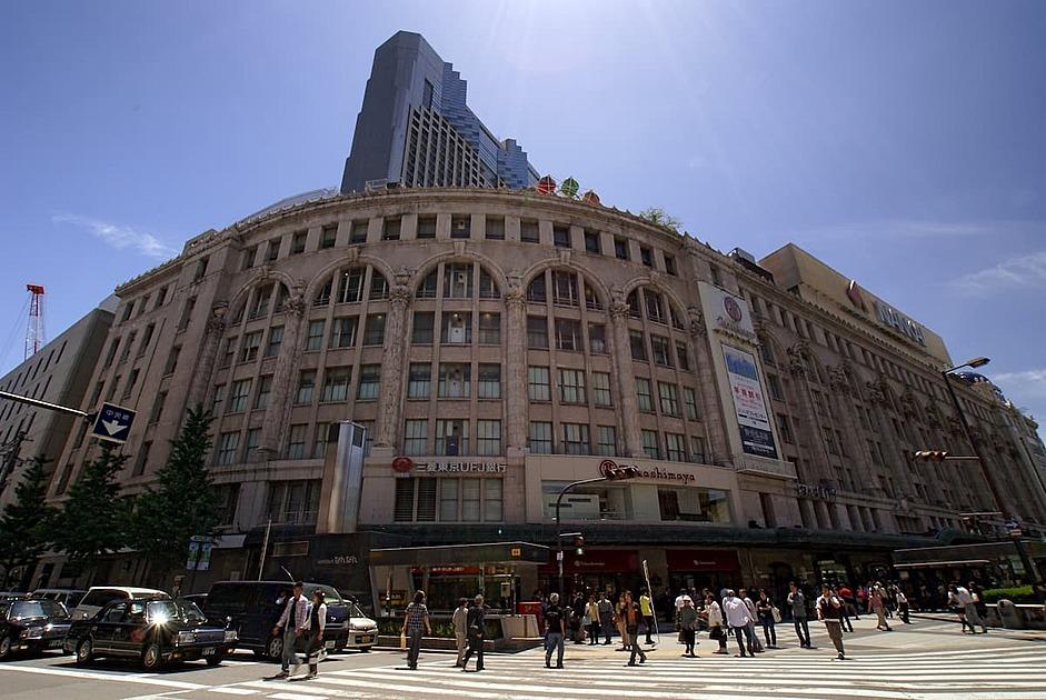 百貨店の画像