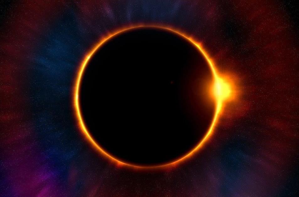 皆既日食の写真