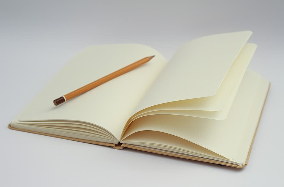手帳の写真