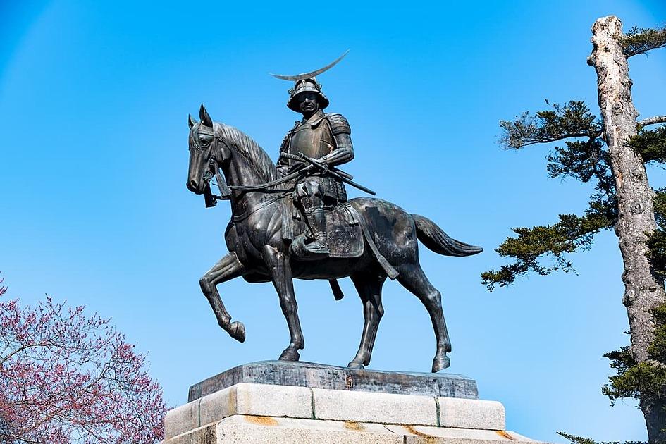 伊達政宗の銅像の写真
