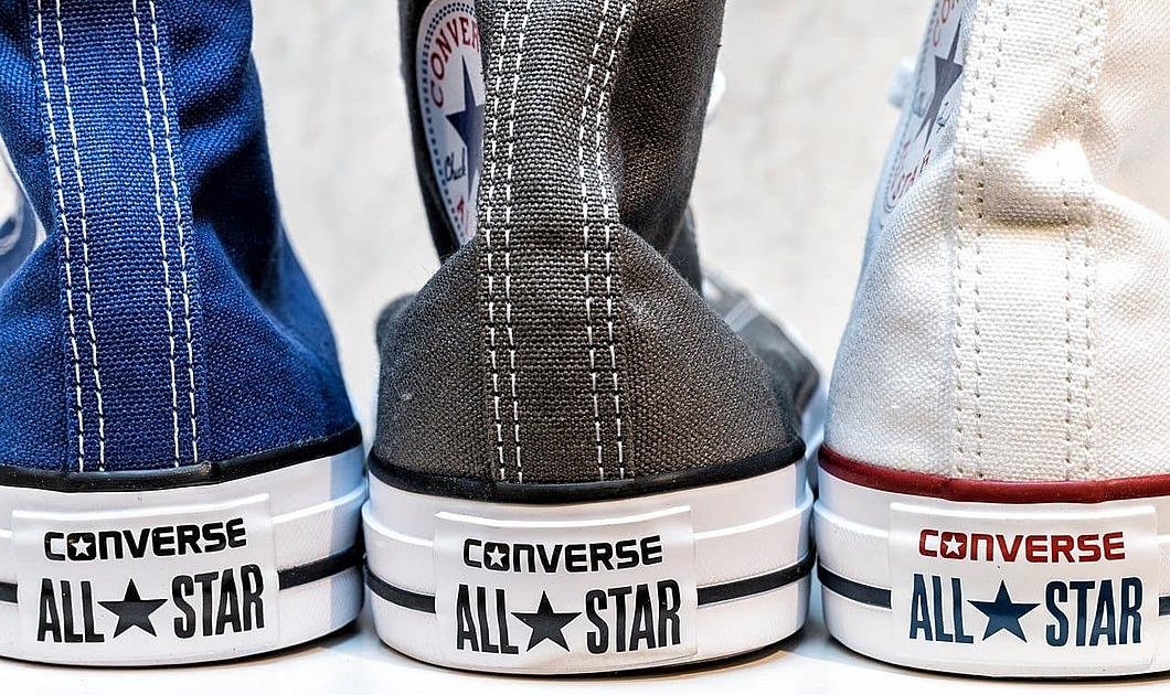 コンバースの靴の写真