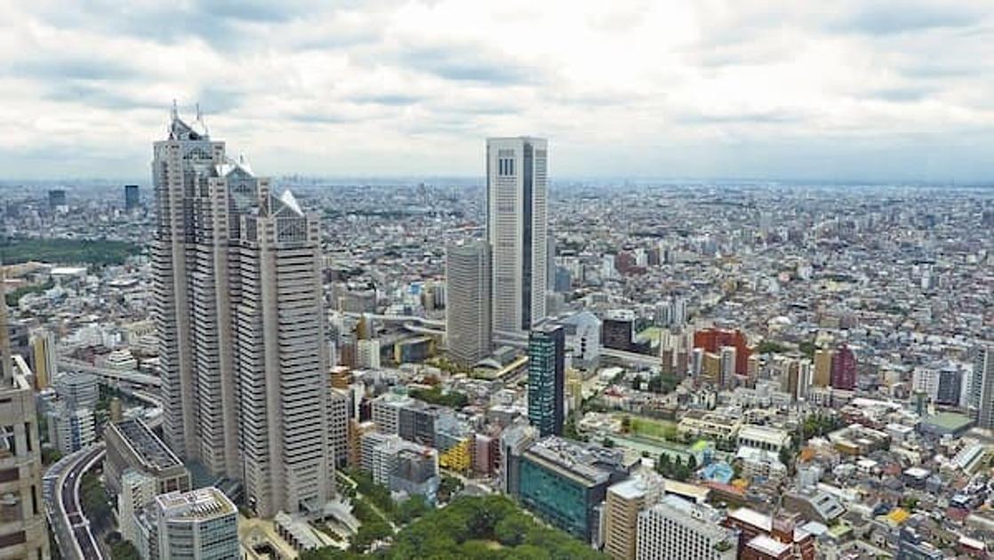 日本の都市の写真