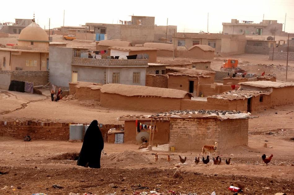 イラク北部モスルの田舎