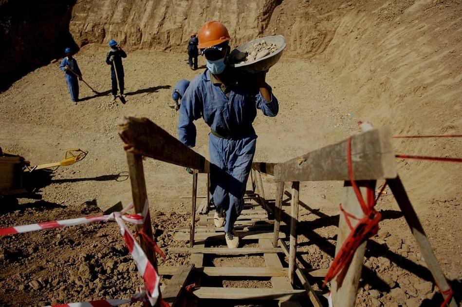 イラクの建設現場