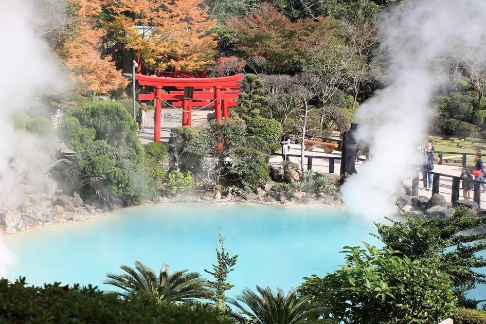 別府の温泉