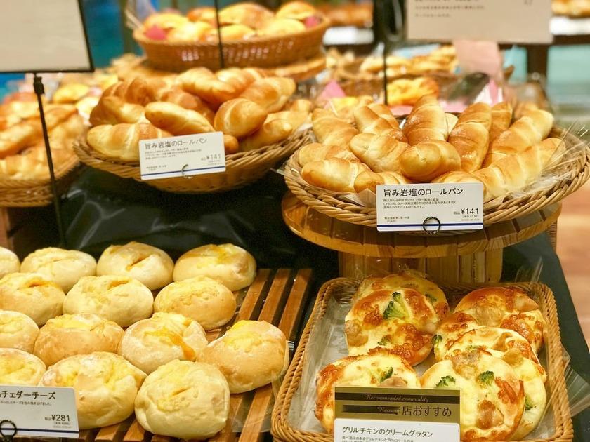 パン屋の陳列