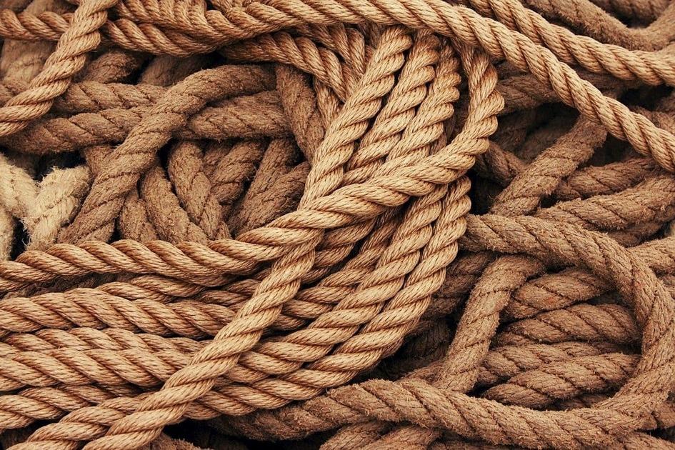 船のロープ