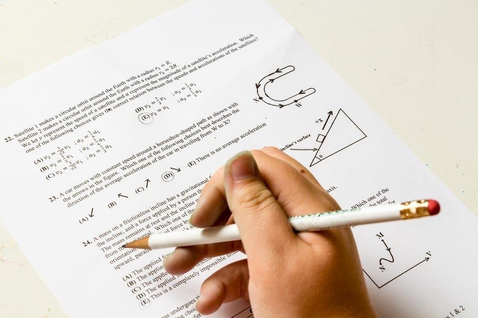 数学の試験